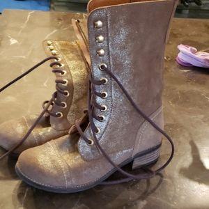 """Sundance gold """"tarot"""" boots"""